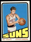 1972 Topps #67  Mel Counts   Front Thumbnail