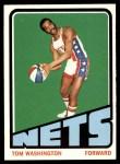 1972 Topps #240  Tom Washington   Front Thumbnail