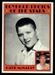 1972 Topps #344   -  Dave McNally Boyhood Photo Front Thumbnail