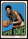 1972 Topps #10  Spencer Haywood   Front Thumbnail
