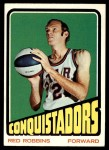 1972 Topps #212  Red Robbins   Front Thumbnail