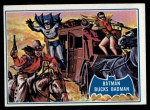 1966 Topps Batman Blue Bat Puzzle Back #31 PUZ  Batman Bucks Badman Front Thumbnail