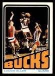 1972 Topps #145  Lucius Allen   Front Thumbnail