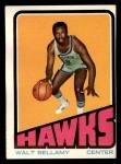 1972 Topps #97  Walt Bellamy   Front Thumbnail