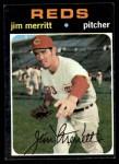 1971 Topps #420  Jim Merritt  Front Thumbnail