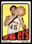 1972 Topps #40  Bob Rule  Front Thumbnail