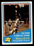 1972 Topps #166   -  Bob Love NBA All-Star - 2nd Team Front Thumbnail