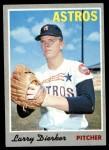 1970 Topps #15  Larry Dierker  Front Thumbnail