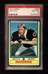 1974 Topps #409  Jim Otto  Front Thumbnail