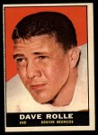 1961 Topps #197  Dave Rolle  Front Thumbnail