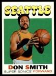 1971 Topps #109  Don Smith  Front Thumbnail