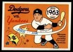 1970 Fleer World Series #60   -  Moose Skowron 1963 Dodgers vs. Yankees   Front Thumbnail