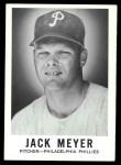 1960 Leaf #137  Jack Meyer  Front Thumbnail