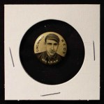 1910 Sweet Caporal Pins SM Larry McLean  Front Thumbnail