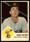 1963 Fleer #28  Chuck Cottier  Front Thumbnail