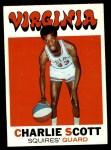 1971 Topps #190  Charlie Scott  Front Thumbnail