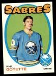 1971 Topps #88  Phil Goyette  Front Thumbnail