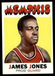 1971 Topps #185  James Jones  Front Thumbnail