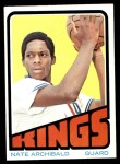 1972 Topps #115  Nate Archibald   Front Thumbnail