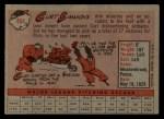 1958 Topps #404  Curt Simmons  Back Thumbnail