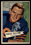 1952 Bowman Small #133  Robert Williams  Front Thumbnail