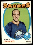 1971 Topps #36  Roger Crozier  Front Thumbnail