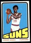 1972 Topps #119  Lamar Green   Front Thumbnail