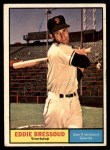 1961 Topps #203 ERR Eddie Bressoud  Front Thumbnail
