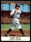 1961 Golden Press #3  Babe Ruth     Front Thumbnail