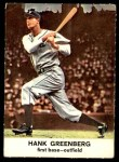 1961 Golden Press #4  Hank Greenberg  Front Thumbnail