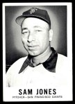 1960 Leaf #14  Sam Jones  Front Thumbnail