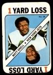 1971 Topps Game #38  Matt Snell  Front Thumbnail