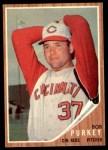 1962 Topps #120 GRN Bob Purkey  Front Thumbnail