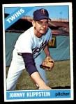 1966 Topps #493  Johnny Klippstein  Front Thumbnail