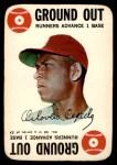1968 Topps Game #32   Orlando Cepeda   Front Thumbnail