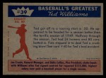 1959 Fleer #39   -  Ted Williams Great Start Back Thumbnail