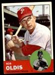 1963 Topps #404 CNT Bob Oldis  Front Thumbnail