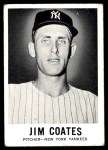 1960 Leaf #35 SML Jim Coates  Front Thumbnail