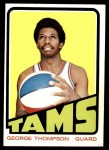 1972 Topps #221  George Thompson   Front Thumbnail