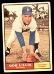 1961 Topps #38  Bob Lillis  Front Thumbnail