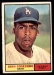1961 Topps #363  John Roseboro  Front Thumbnail