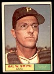 1961 Topps #242  Hal W. Smith  Front Thumbnail