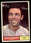 1961 Topps #288  Albie Pearson  Front Thumbnail