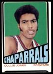 1972 Topps #181  Collis Jones   Front Thumbnail