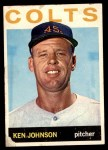 1964 Topps #158  Ken Johnson  Front Thumbnail