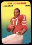 1970 Topps Glossy #19  Jimmy Johnson  Front Thumbnail