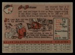 1958 Topps #96  Joe Durham  Back Thumbnail