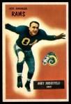 1955 Bowman #121  Andy Robustelli  Front Thumbnail