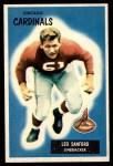 1955 Bowman #123  Leo Sanford  Front Thumbnail