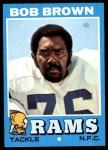 1971 Topps #16  Bob Brown  Front Thumbnail